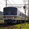 1991年のJR線in滋賀県 食パン・ボンネット・湘南・オバマ