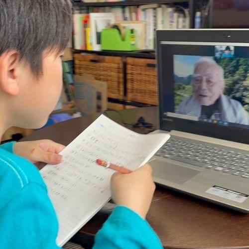 10才のお子さんが戦争体験の聞き書きをしてくれました