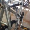 汗をかいて自転車の鍵をぶっ壊した。