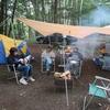 ブルーベリー狩り+キャンプ