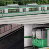 地下鉄西神・山手線の新型車両、デザイン「B案」に決定 丸み帯びた先頭車
