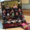 大安吉日の建国記念日に子どもが雛人形を飾ってくれました