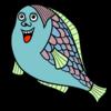 かわいい魚 のイラスト