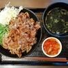 今月の外食写真集「韓丼」のわかめスープなど