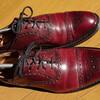 革靴はバーガンディがいい?!歳とりゃに合うよ、今のうちに買っとこう!