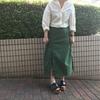 PULETTEのスリットスカート