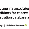 免疫チェックポイント阻害薬投与後の自己免疫性溶血性貧血(AIHA)について