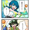 4コマ漫画 第22話『ラケットはなんでもOK!』