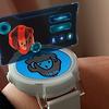 【VuforiaAR】腕時計からポワーンって映像が出てるふうのAR【Unity】