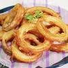 【モス風】フライパンで簡単!サックサクで最高に美味しい『オニオンリング』の作り方