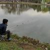 今日は魚釣り❗