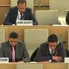 第43回人権理事会:開発権を含む、市民的、政治的、経済的、社会的および文化的権利に関する一般討論を開始/適切な住居に関する特別報告者との双方向対話を終結/テロリズム対策の一方での人権および基本的自由の促進および保護に関する特別報告者との双方向対話(答弁権)