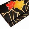 着物と和紙で作った札入れ