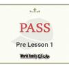 【DWE】ブルーCAP Pre Lesson1、無事PASS。 と、今月の応募。