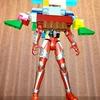小2息子がレゴブロックで作った仮面ライダー鎧武のオリジナルアームズがカッコ良過ぎてアップする。