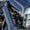 パーツ:Thunderbike「Turn Signal Bracket front M8 black 」
