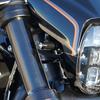 パーツ:Thunderbike「Turn Signal Bracket front M8 black 」