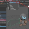 maya:プログラマー 武器のコンストレインをやってみる(武器のアタッチ手順)