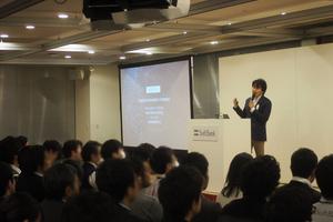 IoT時代に求められるビッグデータ活用をテーマに、ソフトバンク社員向けに講演