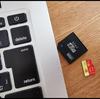 MicroSDにMacとWindowsを