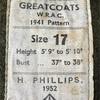 214  イギリス軍 第7弾 50's 『GREATCOATS』ビンテージ コート