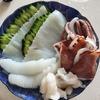 【夏が旬】福井県産の剣先いかを糸造りで食す!