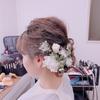 【結婚式準備】ヘアメイクリハーサルこんな感じでした!