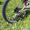 自転車のディレイラー交換
