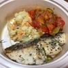 長者町の「Bihotza」でサワラのソテー スペイン風夏野菜の煮込み添え(パン付)のお持ち帰り