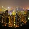 米国、中国、香港。ドル、金。