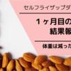 【セルフライザップ】1か月目終了!走らなくても体重は減ったのか!?【ケトジェニックダイエット】