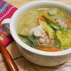 簡単!!豚バラ肉と白菜の春雨スープの作り方/レシピ