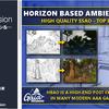 Horizon Based Ambient Occlusion 物と物の隙間を暗く、法線マップにも影響を与えるHBAO。Unityの標準SSAOと比較してみた