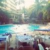 プールでセレブ気分@ホテル リガリス。【2010年:インド】