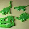 恐竜バッチキャンディーカラー