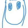 iPodお絵かき→なぜかムーミンを描いてしまう | Draw Moomin on iPod