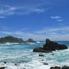 すさみより~穏やかな海と荒れた海~
