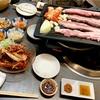 丸い月!船橋駅No.1韓国家庭料理店でサムギョプサル、マッコリ、ケジャン、ソルロンタン、海鮮チヂミを喰らう!
