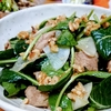 無限に食べられそうな勢い!バルサミコチキンと大根と小松菜のサラダ