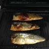 ヘルシオで魚料理:塩さば。今まででいちばん美味しく焼けました(約15分)