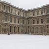 パリで雪が積もるのは、5年ぶりらしい