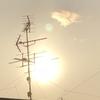 📡アンテナと太陽☀️