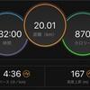 【ラン練習】多摩川不整地20kmラン