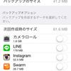 iCloudの容量が足りない
