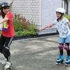 東京ボンバーズの小泉博さんご指導のローラースケート体験会