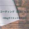 【-40kg達成】ダイエットをするならレコーディング(記録)しよう【大幅減量成功体験談②】