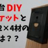 作業台をDIY 杉材2×4材を作業台ブラケットにはめてみた。良し悪しアリ