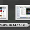 Mac OS X 10.5と同10.6のStacksで異なるところ