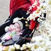 ママ復活!!ベビーカーで春のお散歩♡