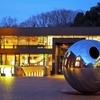 東京都美術館の前にある球体の存在感